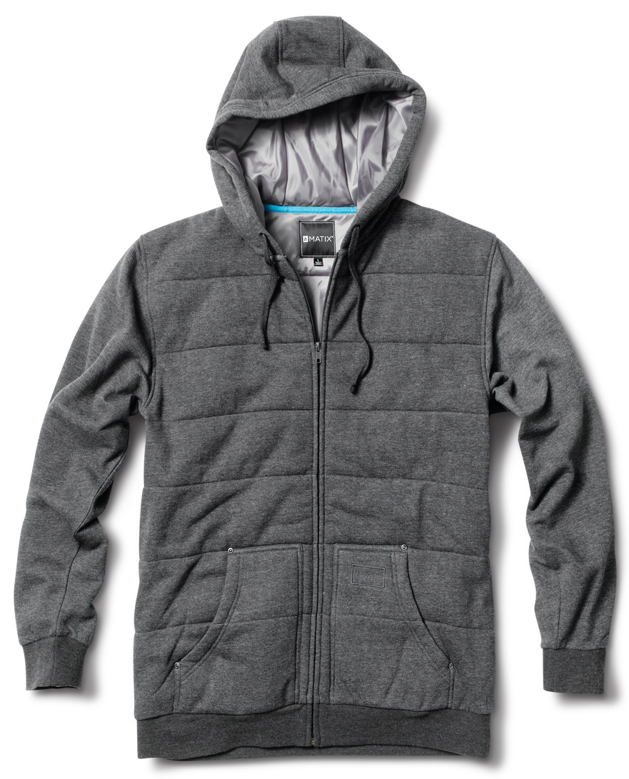Key Features of the Matix Asher Lite Hoodie: 60% Cotton / 40% Poly Fleece Our signature Asher body with front pockets and quilted construction - $41.95