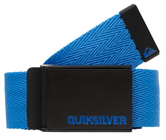 Surf Satisfy the need for speed with our Triple Indy Belt. Our rad belt keeps it simple with a 1.5 inch solid herringbone dobby weave strap, and a flat back clamp buckle and belt tab embellished with enamel filled wordmark and logo details. Keep it fast and fresh. 100% nylon. Imported.Key Features of the Quiksilver Triple Indy Belt: 100% Nylon 1.5 inch belt with herringbone dobby weave enamel filled wordmark embossed flat back clamp buckle enamel filled embossed mountain wave belt tab - $10.95