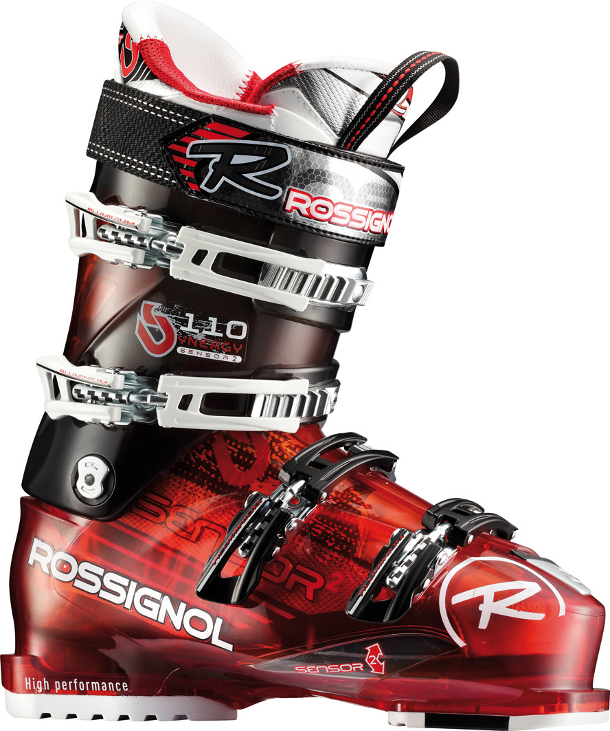 "Ski Sensor has a 102mm ""medium-wide"" fit based on the 100mm Sensor. Sensor features a 2mm wider ""V"" shape in the forefoot, preserving the contoured fit, strong heel cup and asymmetrical toe box. Sensor Fit liners provide an accommodating instep and more articulate ankle area, increasing comfort, performance and warmth. Available in 120 to 80 flex ranges, the Sensor is ideal for expert to intermediate skiers who need strong all-mountain performance and a forgiving fit. Last: 102mm  Flex: 110  Material: Polyolefine  Padding: Machined PU - $213.95"