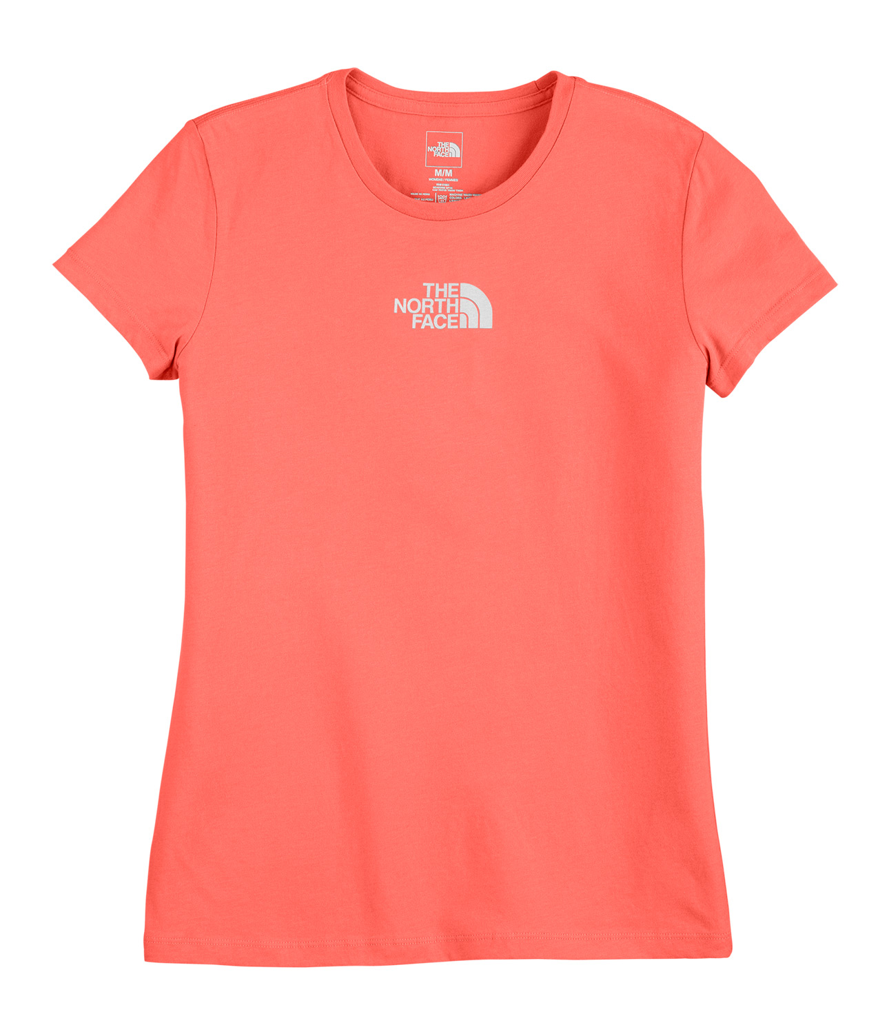 Key Features of The The North Face Micro Logo T-Shirt: Regular Fit Crew Neck Short Sleeve 100% cotton jersey fabric 1x1 rib at the collar Water-based graphic - $12.95