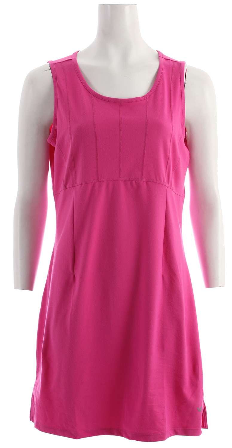 Entertainment White Sierra Performance Dress Rose Violet - $24.95