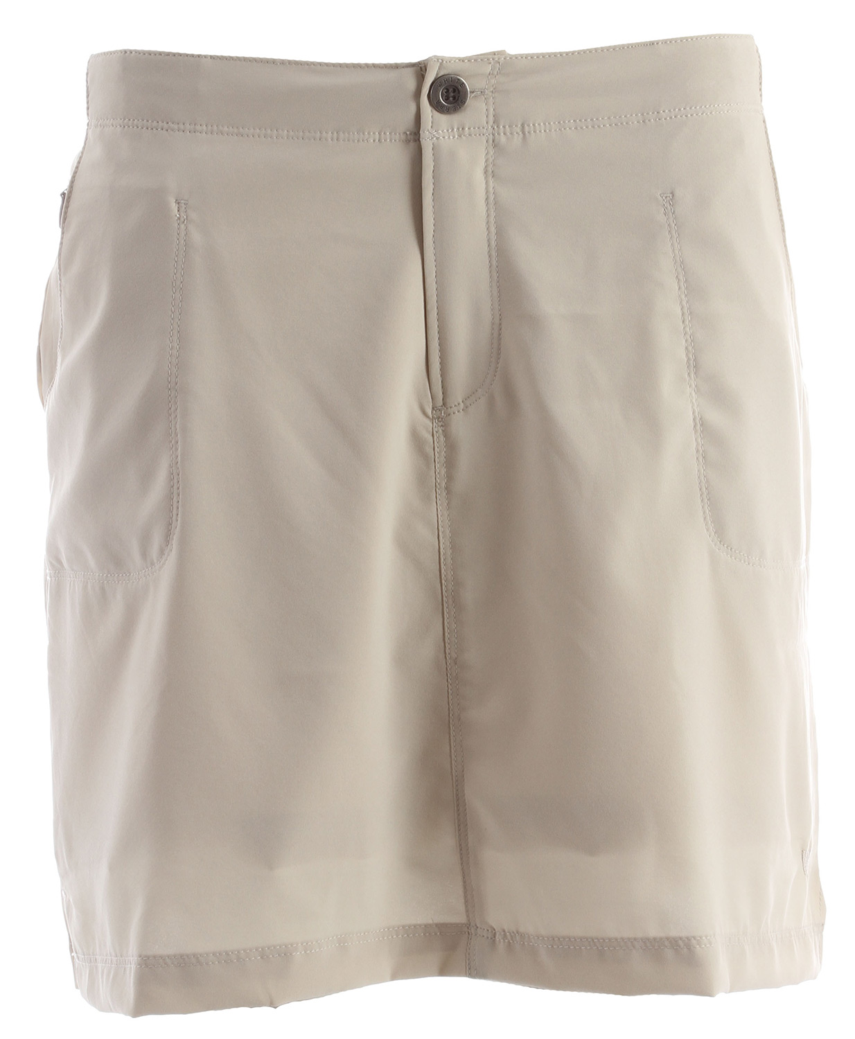 "The West Loop Trail Skort is both practical and feminine to take you from place to place. The size zip pocket will help hold your key, lip balm, cash, cards, and any other necessities.Key Features of the White Sierra West Loop Trail Skort: 92% polyester 8% elastane woven Sun protection fabric Comfort fit back elastic Attached interior shorts Zip secure hip pocket Skort length: 17"" - $26.95"
