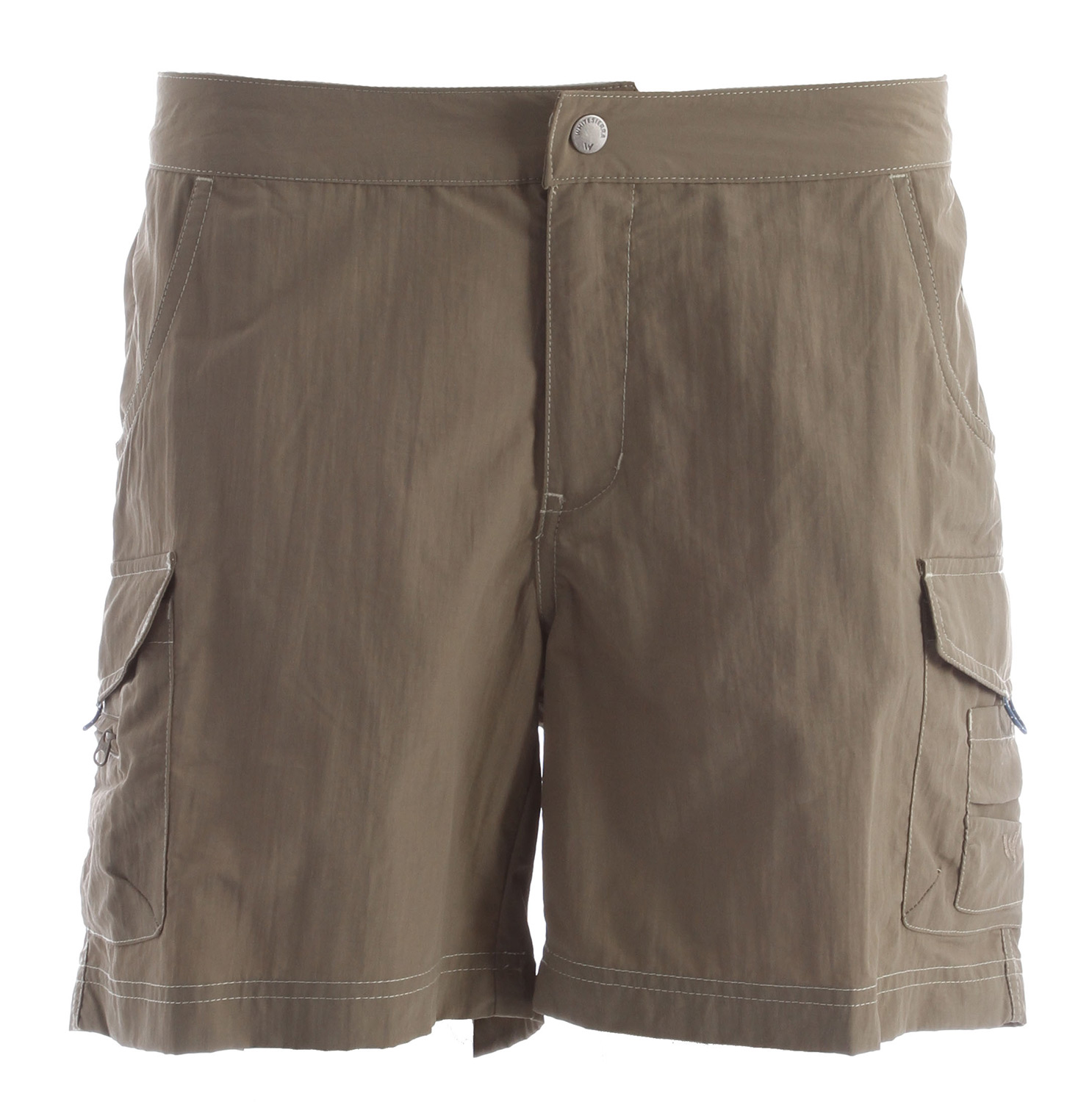 "Made specifically for women, these Womens White Sierra Crystal Cove River Shorts are great for hiking and enjoying a sunny day in. Built to last, these shorts will provide the user with a regular elastic fit and are built to repel water and also offer the wearer with UPF sun protection. These shorts are great for the journey and due to the 100% river cloth, these shorts can be transferred from dry land and into the rushing water. Key Features of the White Sierra Crystal Cove River Shorts: RIVER CLOTH 100% nylon woven UPF 30 Quick dry Travel friendly Comfort fit side elastic Contrast color topstitching Side cargo pockets Fabric weight: 4oz Inseam: 6"" - $19.95"