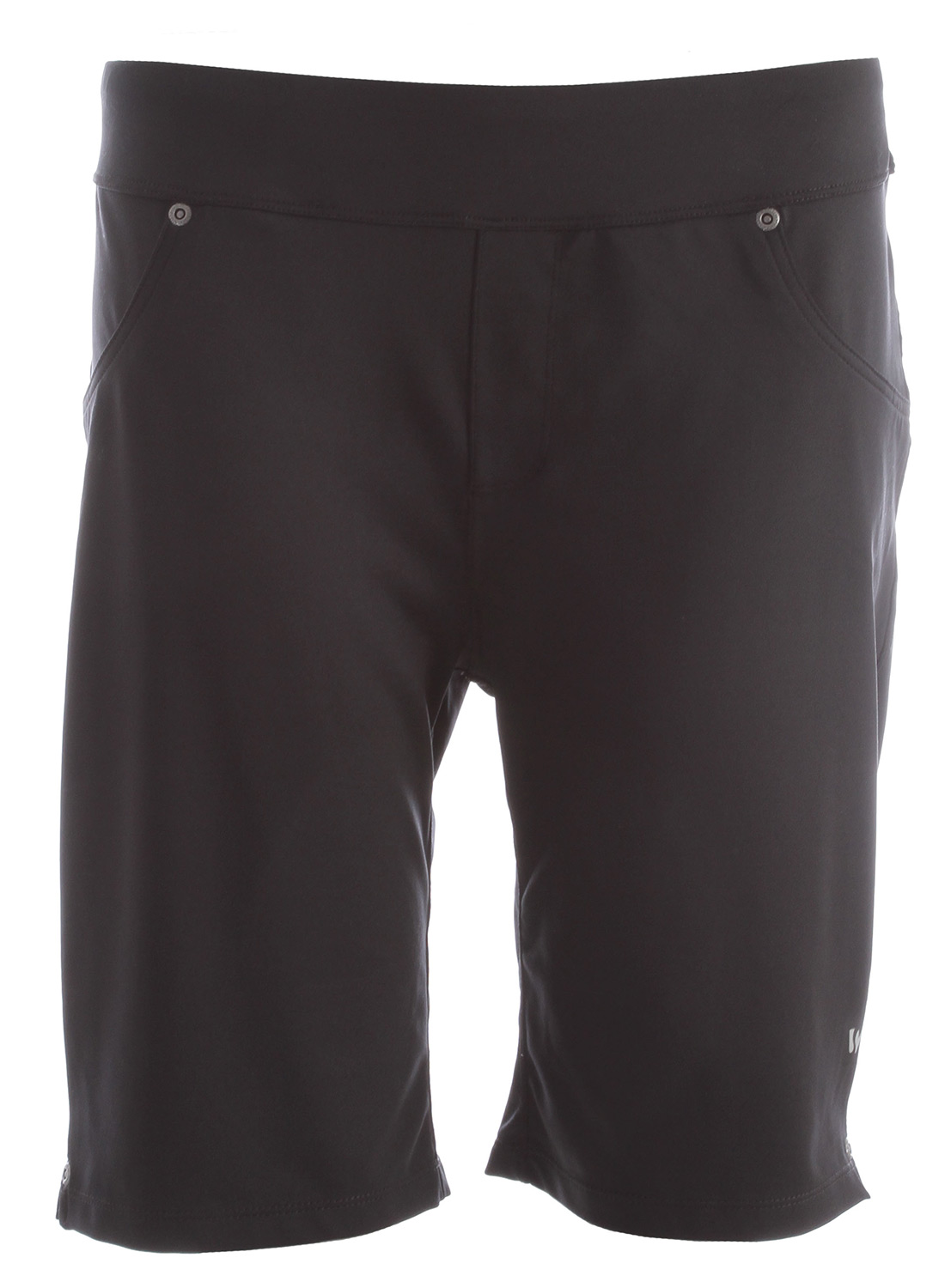 "Camp and Hike Key Features of the White Sierra Knit Hiking Shorts: SIERRA FLEX 88% polyester 12% elastane jersey knit heathered and solid Sun protection fabric Wicking Travel friendly Faux front pockets Back patch pockets Fabric weight: 4oz Inseam: 9"" - $26.95"