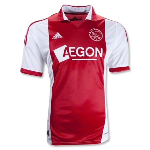 Entertainment Mens Ajax Home Soccer Jersey 11/12