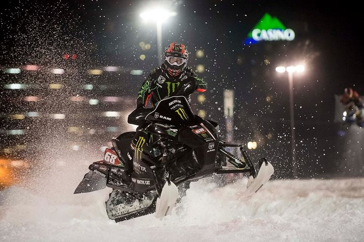 Snowmobile monsterenergy