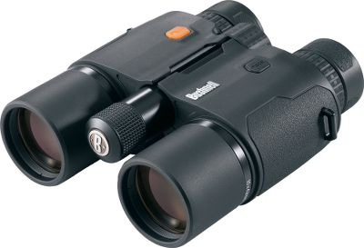 Hunting Experience impressive ranging out to one mile with these Bushnell Fusion 1-Mile Rangefinding Binoculars Matrix Display. Provides clear, crisp, two-color dependability in all lighting conditions. XTRtechnology allows for ultimate light transmission. Use the Variable Sight-In(VSI) option that allows you to sight in distances of 100, 150, 200 or 300 yards when in rifle mode. Built-in ARC mode provides true-angle compensation by accounting for the terrain angle when calculating distance, so you know the precise shoots-like range. BaK-4 prisms with PC-3phase-corrective coating offer superior resolution and stunning clarity RainGuardHD lens coating is waterproof and fogproof. BullsEye mode measures objects in the foreground while Brush measures objects in the background. 100% waterproof housing and integrated battery-life indicator. Includes one CR-123 battery, neck strap and carry case. Color: Clear. Type: Rangefinder Binoculars. - $1,199.00