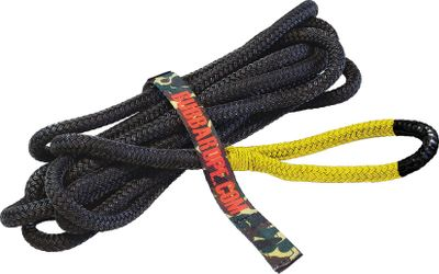 Motorsports Double-braided, nylon kinetic energy Bubba Rope Tow Ropes are developed from military specifications for safely pulling vehicles out of mud and snow. The inner core of the tow rope is loosely braided to absorb lower loads while the outer nylon jacket is braided tighter for higher loads. Dipped in a protective urethane polymer base for a durable coating. Water-, UV- and abrasion-resistant. Commercially spliced and seized at both ends. Gator-Jaw and Mini Gator-Jaw Soft Shackles are made of high-strength Plasma rope that is stronger than conventional steel shackles or carabiners. Available: Lil Bubba Yellow Eyes 12 x 20. 7,400-lb. breaking strength. Renegade Black Eyes 3/4 x 20. 19,000-lb. breaking strength. Bubba Blue Eyes 7/8 x 20. 28,600-lb. breaking strength. Cabelas 30-ft. 7/8 x 30. 28,600-lb. breaking strength. Big Bubba 1-1/4 x 30. 52,300-lb. breaking strength. Jumbo Bubba 1-1/2 x 30. 74,000-lb. breaking strength. Extreme Bubba 2 x 30. 131,500-lb. breaking strength. Gator-Jaw Soft Shackle 7/16. 32,000-lb. breaking strength. For use towing 4x4 off-road, agriculture and mining equipment and various marine uses. Mini Gator-Jaw Soft Shackle 1/4. 11,000-lb. breaking strength (Per 2). For use towing ATVs, UTVs, personal watercraft and other power-sports equipment. Size: MINI GATOR JAW. Color: Yellow. Gender: Male. Age Group: Adult. - $44.99