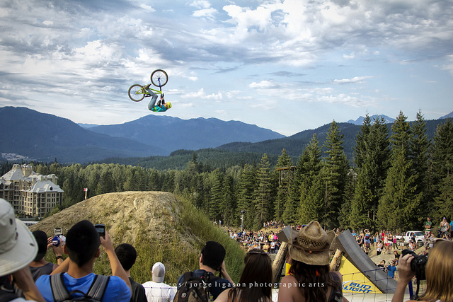 MTB Red Bull Slopestyle 2012 Champion: Thomas Genon