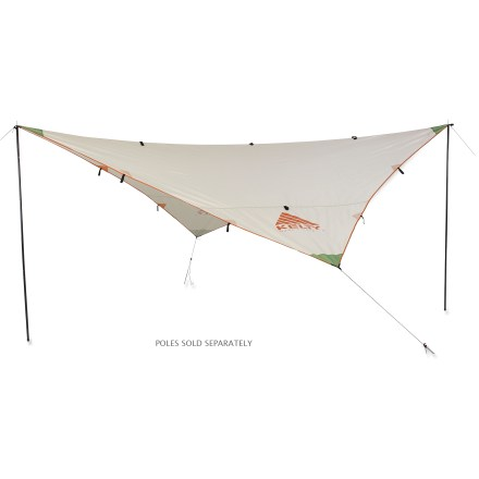 Camp and Hike This lightweight, affordable shelter is handy to have aboard for weather protection in a hurry-whether you are traveling over land or over water. - $49.93
