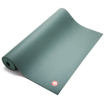 Fitness The Manduka PRO Black Sage Yoga mat is known for its simple design, nonslip surface, thick cushioning and excellent durability. It will quickly become your favorite yoga mat! - $108.00