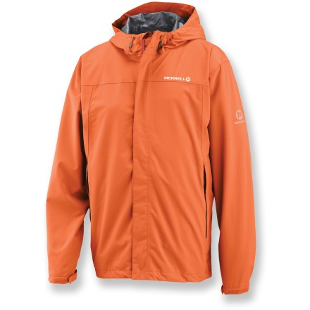 Camp and Hike Whether you're hiking, walking the dog or commuting, the Merrell Norgate jacket offers protection against sudden downpours. - $79.73