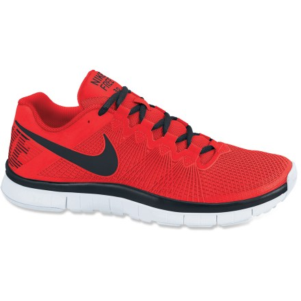 Camp and Hike The Nike Free Trainer 3.0 men's multisport shoes offer a natural, minimalist feel that doesn't sacrifice cushioning. These shoes are perfect for running, crossfit and cross training. - $54.83
