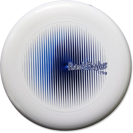 Camp and Hike Designed for official tournament play, the Nite Ize Flashflight Ultimate disc is ideal for your league, a pick-up game with your friends, or a backyard game of catch. - $7.93