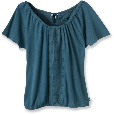 The lightweight prAna Jana top features delicate lace detailing that sets it apart from anything already in your closet. - $23.83