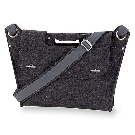 Entertainment Free Shipping. Ibex Reclaimed Commuter Bag DECENT FEATURES of the Ibex Reclaimed Commuter Bag Padded laptop sleeve Front flap with locking closure 3 organizer pockets Contrast details The SPECS Interior: Hemp/Organic cotton and Loden; Body: Felted Ibex wool scraps blended with recycled poly; Strap: Recycled poly with felt pad - $149.95