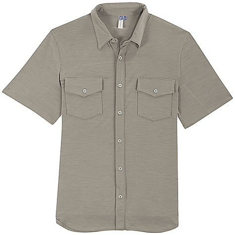 Entertainment Free Shipping. Ibex Men's Ace Shirt DECENT FEATURES of the Ibex Men's Ace Shirt Regular fit Button front; clean lines Front patch pockets with button flaps Yoke and seam details The SPECS 100% ZQ New Zealand Merino Wool 18.5 micron Lightweight Jersey 150 g/m2 - $115.00