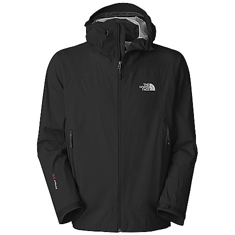On Sale. Free Shipping. The North Face Men's Leonidas Jacket DECENT FEATURES of The North Face Men's Leonidas Jacket Performance fit Waterproof, breathable, seam sealed Attached storm-secure hood Polyurethane (PU) zip hand pockets Pit-zip vents Non-abrasive molded cuffs Storm-secure hem The SPECS Fabric: 40D 138 g/m^2 (4 / 07 oz/yd^2) 100% nylon HyVent 25L with four-way mechanical stretch Avg Weight: 400 g (11.8 oz) Length from Center Back: 29in. This product can only be shipped within the United States. Please don't hate us. - $183.96