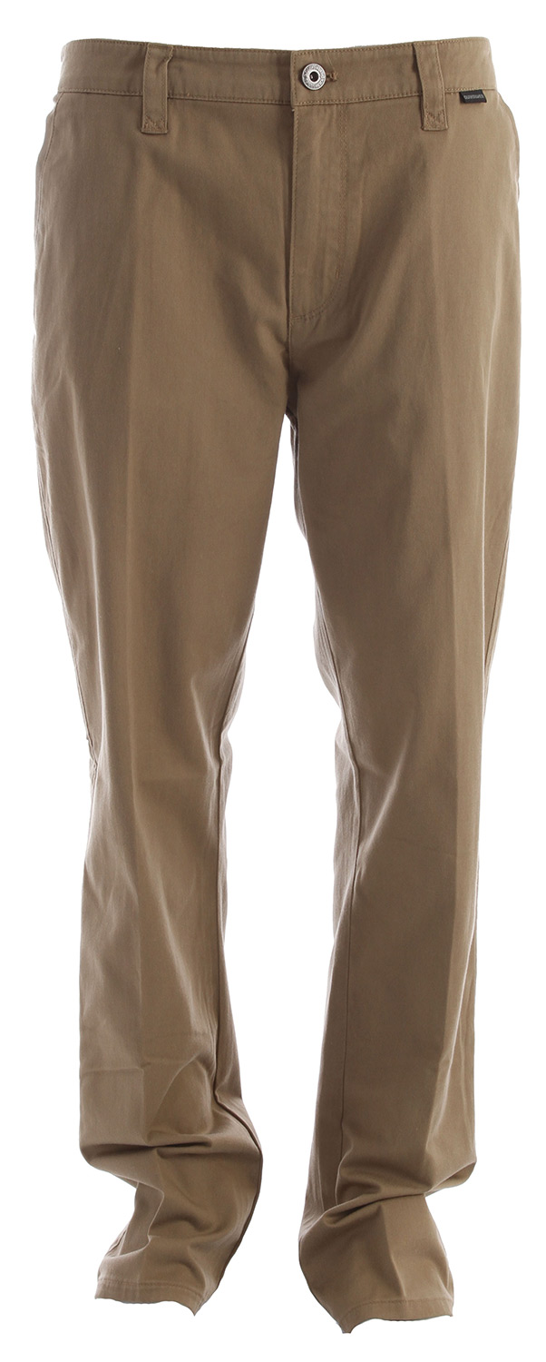 Surf Job interview, first date, casual Friday or even a wedding reception--The Union is the perfect pant for the perfect occasion.Key Features of the Quiksilver Union Pants: 60% Cotton 40% Polyester Regular fit 32 inch inseam Interior waistband details Single welt back pockets Waistband label Belt loop with X detail Enzyme stone wash with softener - $34.95
