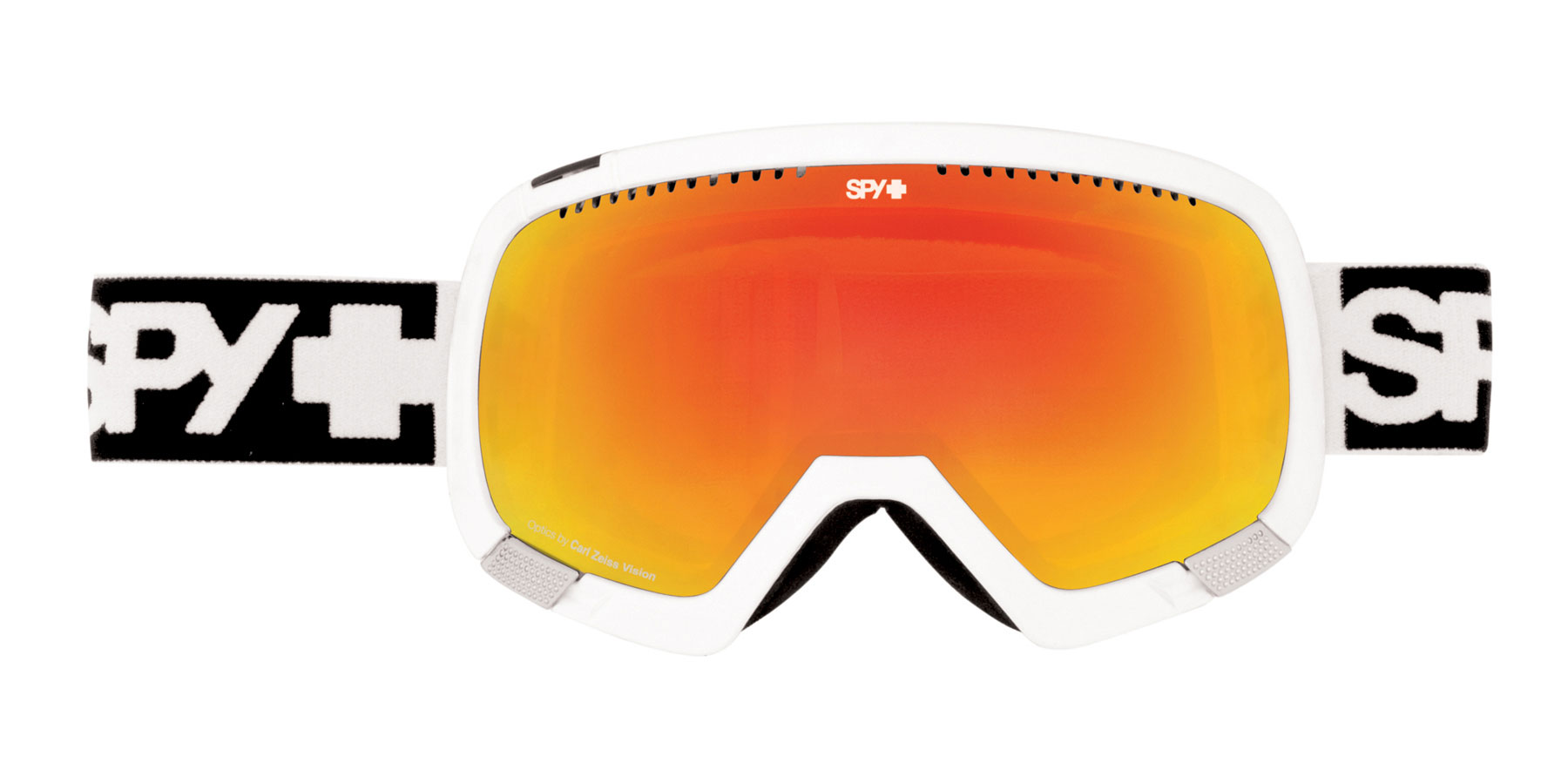 Snowboard Spy added a new member to the family - the Platoon goggle, an oversized compliment to the line comes with a free bonus lens to keep you going in all conditions. The Platoon blends Scoop venting and Optics by Carl Zeiss Vision with a massive view in an oversized fit. Cover your eyes with one; the world has never looked so good The biggest, cleanest, most modern goggle Spy makes. They supply the view, you supply the vision.Key Features of the Spy Platoon Snowboard Goggles: Optics by Carl Zeiss Vision Free Bonus Lens Oversized, flexible frame conforms to any face for a comfortable fit Patented Scoop ventilation system to combat lens fogging 5.5-Base ARC spherical dual lens with anti-fog & anti-scratch protection Triple Layer Isotron face foam featuring moisture-wicking Dri-Force fleece Dual-adjustment, silicone-ribbed strap 100% UV protection - $104.95