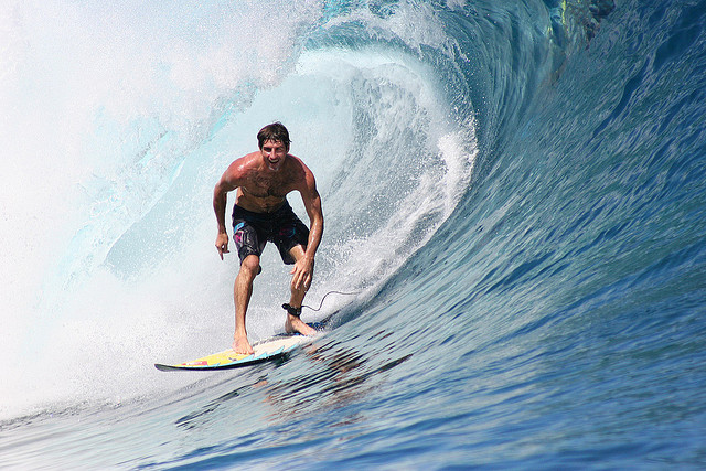 Surf Making it through the tube just makes you smile ;)