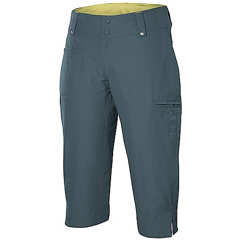 Free Shipping. Isis Women's Zola Capri DECENT FEATURES of the Isis Women's Zola Capri Expedition LT Backpacker-friendly design with flat, clean waistband Secure cargo zip pocket 4 pockets for optimal functionality Favorite rise The SPECS Inseam: 18in. Fabric: 96% Nylon, 4% Spandex - $74.95