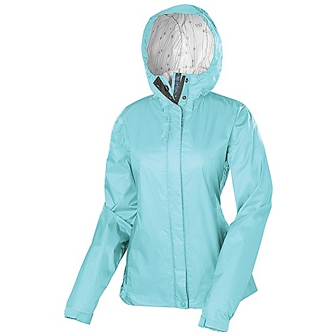 Free Shipping. Isis Women's Aurora Jacket DECENT FEATURES of the Isis Women's Aurora Jacket XPR Fully seam-sealed construction Convenient locker loop inside neck Double storm flap with rain channels prevent water from penetrating the zipper Dual adjustable fixed hood with brim Hook and loop and Elastic cuffs Under arm zippered vents for increased breathability External stash pocket to protect all your essentials The SPECS Body Length: 27in. Fabric: 100% Nylon Ripstop - $128.95