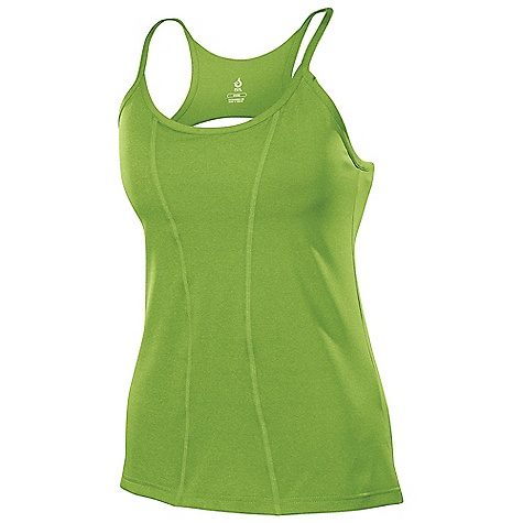 Fitness Isis Women's Corsetta Tank DECENT FEATURES of the Isis Women's Corsetta Tank Built-in shelf bra with 1in. elastic for added support Superior moisture management Flat lock stitching to eliminate chafe for ideal comfort on the move Reflective logo detailing for added visibility The SPECS Body Length: 26in. Fabric: 86% Polyester, 14% Spandex - $48.95