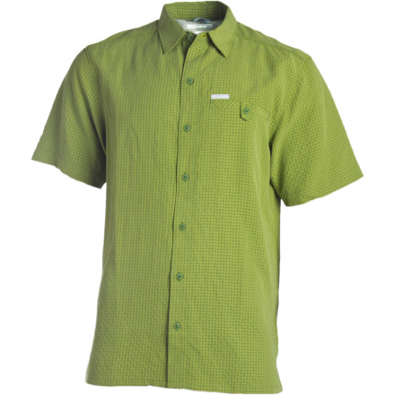Fitness Sometimes a tee is just what you need and sometimes you want a little more of a classy look, whether you're on a trail, a tee box, the saddle of your bike, or in that beloved lawn chair. The Columbia Men's Declination Trail Shirt offers serious breathability and quick-drying properties thanks to the ultralight and highly breathable fabric blend. So drop your lip balm, language guide, tees, shades, or whatever you need into the chest pocket and get out there. - $33.71