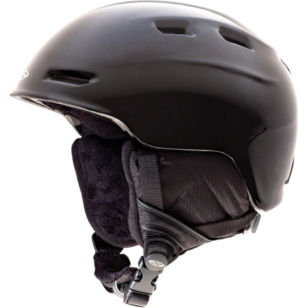 Snowboard Thanks to the lightweight construction of the Smith Kids' Zoom Jr. Helmet, your kid can bomb the groomers and pop off features in the park without feeling like he or she has a bowling ball for a head. - $44.96