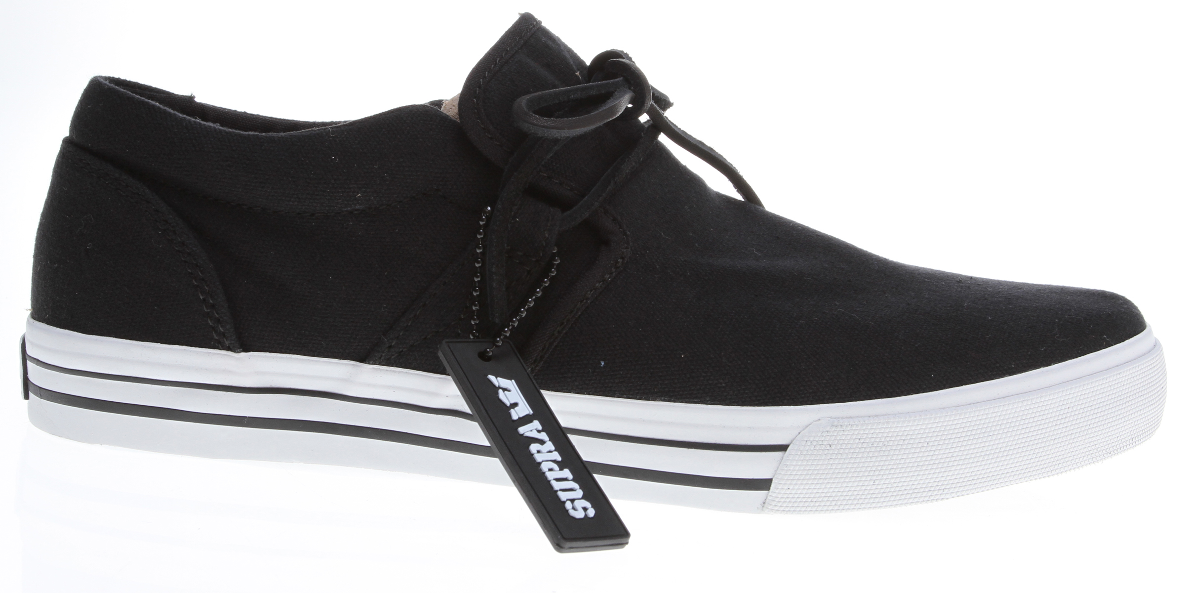 Skateboard Key Features of the Supra Cuban Skate Shoes: Ultra lightweight. Breathable. Flexible. Eco friendly. Does not require harmful adhesives. Will not lose elasticity under compression. When molded into midsole, provides unmatched cushioning and comfort. - $41.95