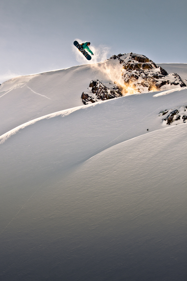Snowboard Christophe Schmidt rocketlight