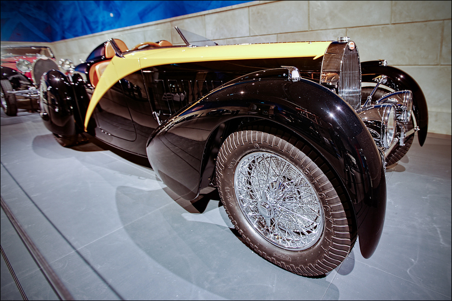 Auto and Cycle Bugatti Type 57 Roadster 'Grand Raid' Gangloff - 1934