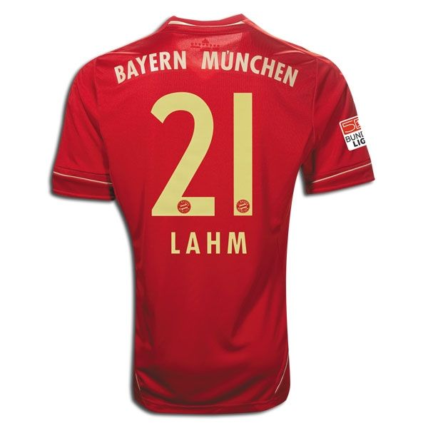 Sports LAHM Bayern Munich Home Soccer Jersey 2012/2013