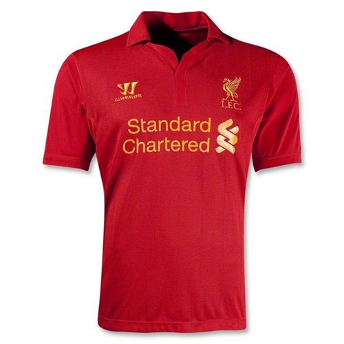 Entertainment Liverpool Home Soccer Jersey 2012-2013