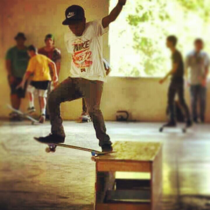 Skateboard Thrill on FB Fan Joey Fontanez Monclova