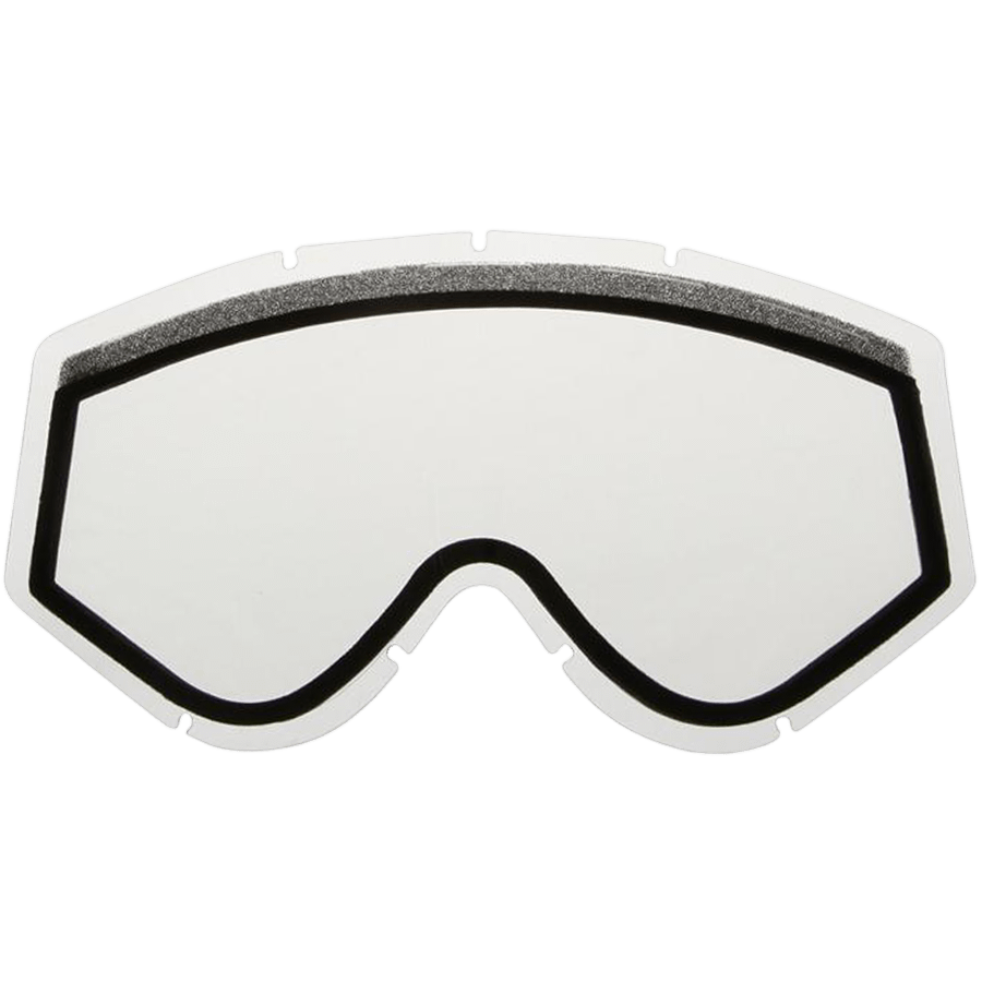 Snowboard Enjoy the wide range of vision offered through the Ashbury Kaleidoscope Replacement Goggles Lens in Clear. This lens is ideal for low light or night riding. The Kaleidoscope lens offers Ashbury's patented Snap Fit Lens Technology which allows for easy lens changing as conditions on the mountain vary. This lens also features double anti-fog anti-scratch protection as well as 100% UVA/UVB/UVC protection. Don't be stuck on the mountain with the wrong lens and pick up your Ashbury Kaleidoscope Replacement Lens. - $20.00