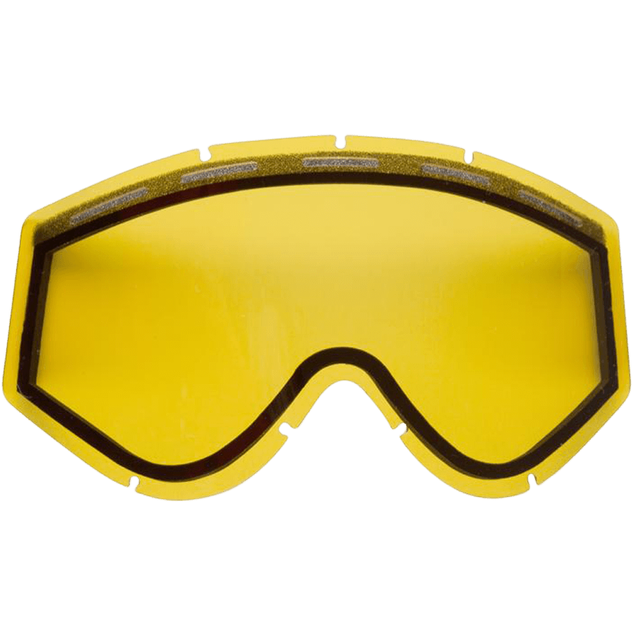 Snowboard Enjoy the wide range of vision offered through the Ashbury Kaleidoscope Replacement Goggles Lens in Orange. This lens is ideal for low light or foggy days of snowboarding. The Kaleidoscope lens offers Ashbury's patented Snap Fit Lens Technology which allows for easy lens changing as conditions on the mountain vary. This lens also features double anti-fog anti-scratch protection as well as 100% UVA/UVB/UVC protection. Don't be stuck on the mountain with the wrong lens and pick up your Ashbury Kaleidoscope Replacement Lens. - $20.00