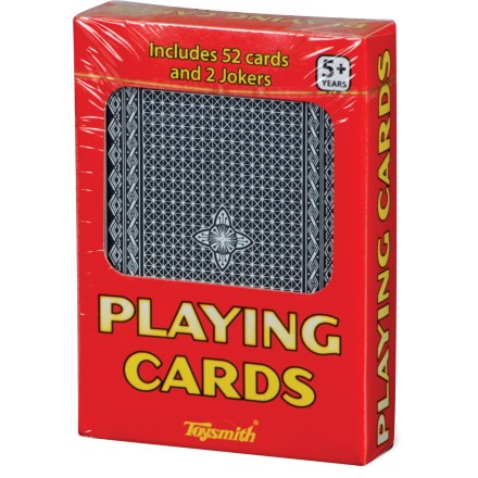 Camp and Hike This individually boxed deck of Toysmith playing cards contains 52 cards plus 2 jokers - $2.93