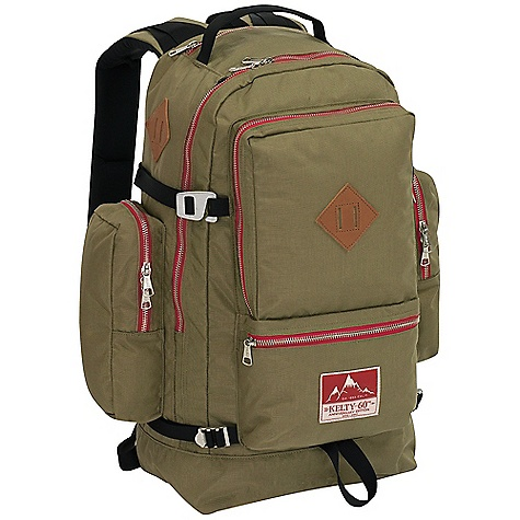 Entertainment Free Shipping. Kelty 60th Anniversary Wing Pack DECENT FEATURES of the Kelty Redwing 44 Pack Hybrid loading Hydration compatible Water bottle pockets Daisy chain Zippered side pockets Zippered stash pocket Large front pocket with organization Key fob Carry handle LightBeam single aluminum stay HDPE frame sheet Dynamic AirFlow back panel AirMesh shoulder straps, waist belt, and lumbar Scherer Cinch (US Pat#5,465,886) Padded shoulder straps Load-lifter/stabilizer straps Sternum strap The SPECS Volume: 2700 cubic inches / 44 liter Weight: 3 lbs 3 oz / 1.5 kg Dimension: 22 x 15 x 12in. / 56 x 38 x 31 cm Torso Fit Range: 14.5 - 18.5in. / 37 - 47 cm Suspension: Lightbeam Fixed Suspension System Body: 420D Polyester Ball Shadow Reinforcement: 450D Polyester Oxford - $154.95