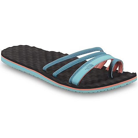 Camp and Hike The North Face Women's Base Camp Trifecta Sandal DECENT FEATURES of The North Face Women's Base Camp Trifecta Sandal Upper: PU-coated synthetic straps with comfortable jersey lining Unique three-strap design with toe loop ensures a secure fit Bottom: Cushy, egg-crate-inspired EVA footbed Durable rubber outsole The SPECS Last: L-319 Approx Weight: 1/2 pair: 4.8 oz / 140 g, pair: 9.6 oz / 280 g This product can only be shipped within the United States. Please don't hate us. - $31.95