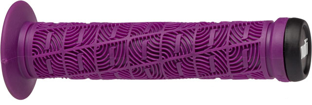 "BMX The ODI ""O"" Grips feature a new, softer durometer compound that offers improved comfort right out of the box. Key Features of the Odi O Grip BMX Grips 143mm: Multi-directional rib pattern provides excellent shock absorption Thick O-shaped ribs offer improved control Includes Thug Plug end plugs Defined Color: Purple Color: Purple Length: 144 mm Flange: Yes Weight: 82.0 g Unit of Sale: Pair Weight/Dims: .29 lbs. 9 x 4 x 2 - $10.95"