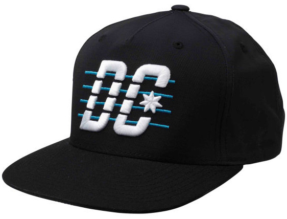 Skateboard Key Features of the DC Velton Cap: One Size STARTER 5 panel snap back Polyester ripstop fabric 3D Puff logo emb at front Contrast brim Logo woven label at back snap 100% Polyester - $19.95