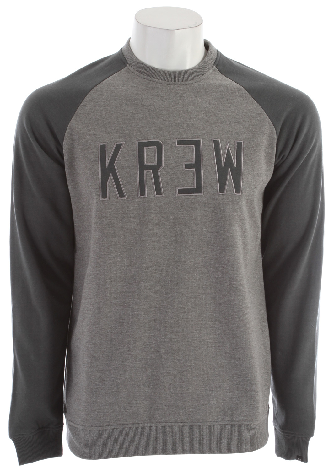 Stop having to call it quits when the temperature drops a bit. The KR3W Minority Crew Sweatshirt is just the right balance of warmth, style and comfort to make it a must-have for anyone having fun and staying warm. This blended cotton and polyester top is durable enough to handle all the challenges you can throw at it while staying comfortable without restricting your range of motion.Key Features of the KR3W Minority Crew Sweatshirt: 80% cotton 20% poly fleece 220g - $26.95