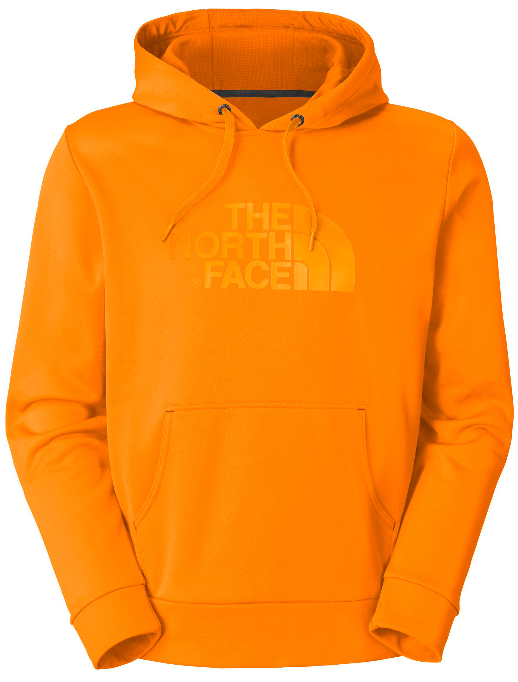 "The Surgent collection is perfect for wearing to and from races or the gym and during recovery. Key Features of the The North Face Surgent Hoodie: Relaxed fit Hand pockets Hidden media pocket Thumb loops Three-piece hood with liner Center back: 27.5"" Fabric: 210 g/m2 (6.2 oz/yd2) 100% polyester jersey-faced fleece;UPF 50 - $38.95"