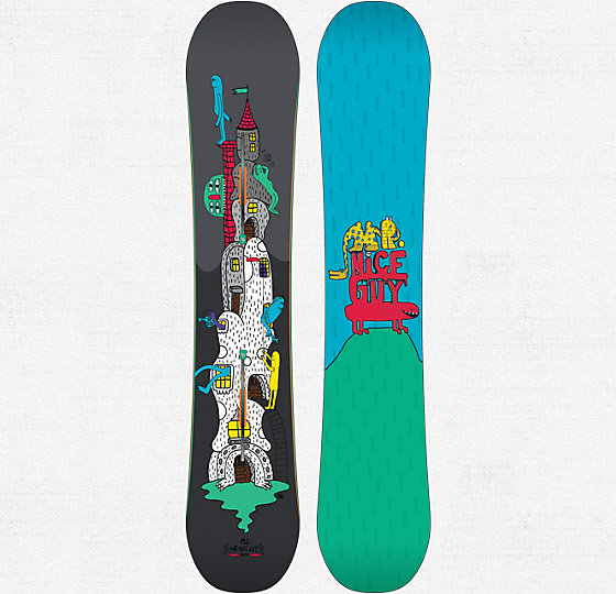 Snowboard Burton Restricted Mr. Nice Guy Snowboard 2013