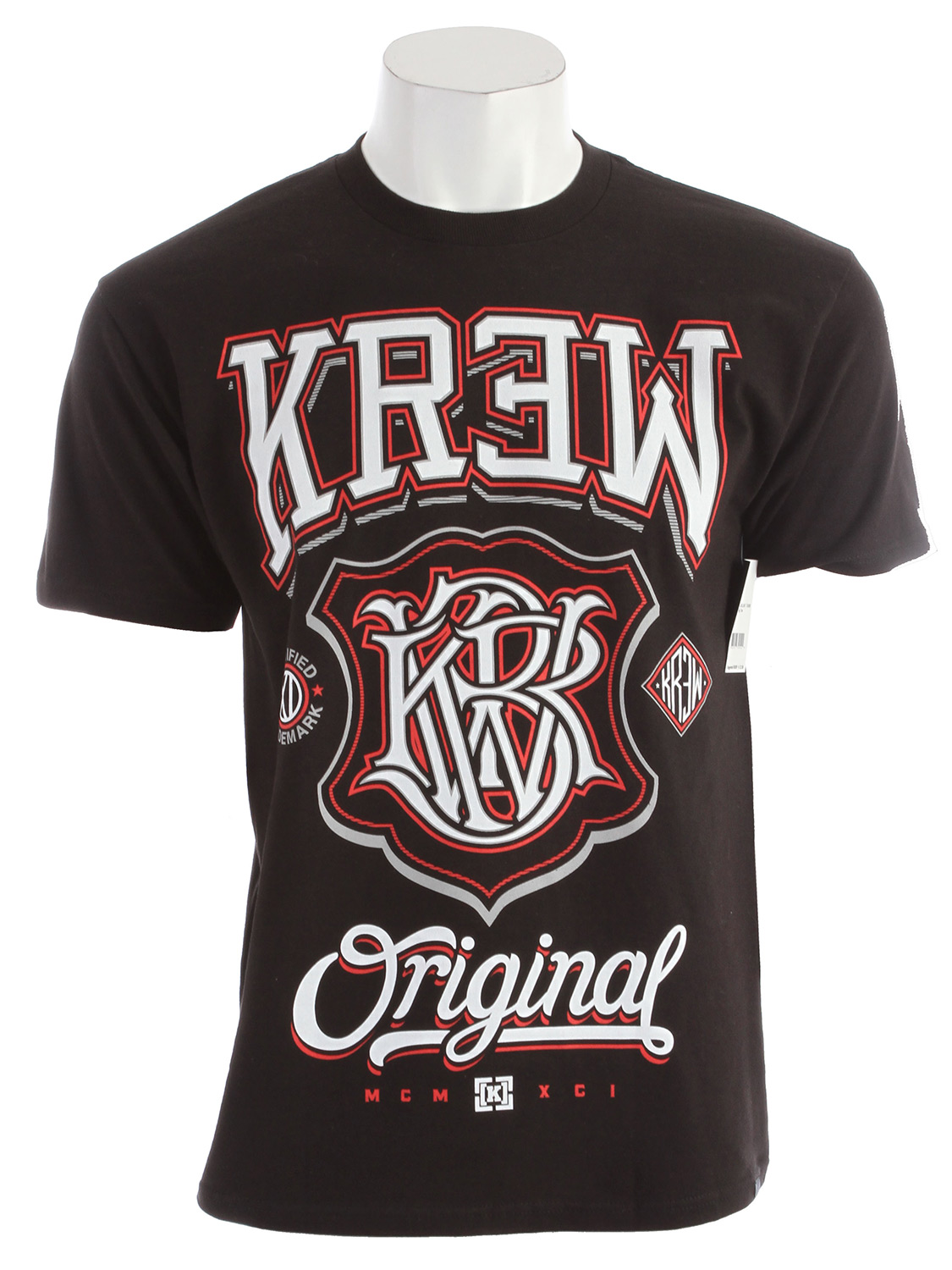 Let's be honest, you're a champ and we all know it! Why not show it off with the KR3W Champ 2 Regular T-Shirt Key Features of the KR3W Champ 2 Regular T-Shirt: 100% cotton 30 singles regular - $13.95