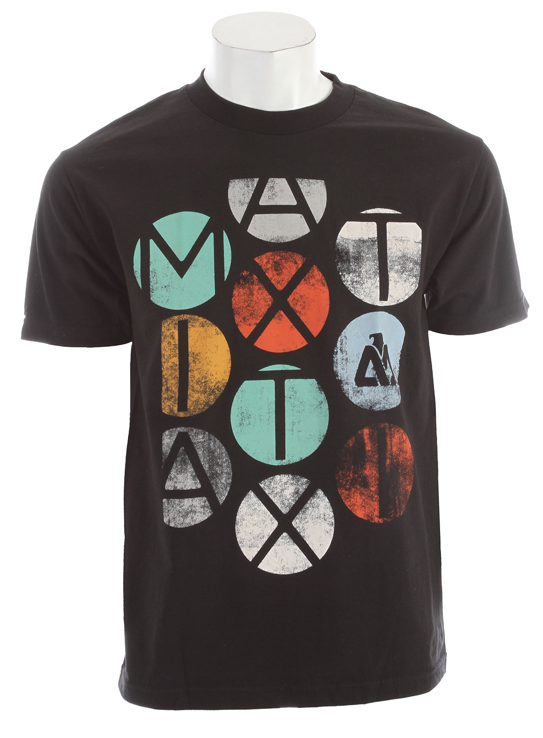 Key Features of the Matix Colors T-Shirt: Inkprint with cuff label and Monovert lower left back hit. Standard Fit. Material: 100% Cotton - $11.95