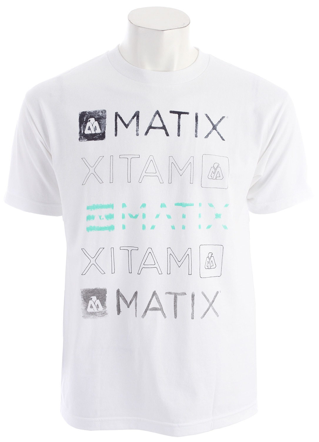 Key Features of the Matix Faded T-Shirt: Inkprint with cuff label and Monovert lower left back hit. Standard Fit. Material: 100% Cotton - $12.95