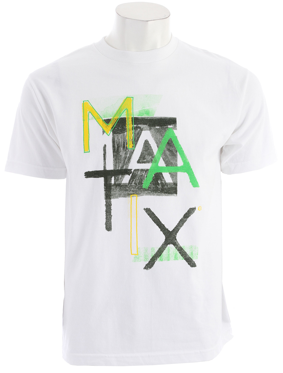 Whether you want a shirt you can relax in, or you just wanna add some flavor to your day, the Matix Mediums T-Shirt will help. With the shirts standard fit, it allows you to stay relaxed and comfortable while you relax after a hard day of work. So add some flavor to your life, with the Matix Mediums T-Shirt.Key Features of the Matix Mediums T-Shirt:  Inkprint with cuff label and Monovert lower left back hit.  Standard Fit.  Material: 100% Cotton - $7.95